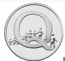 Royal Mint's Q Coin (2018)